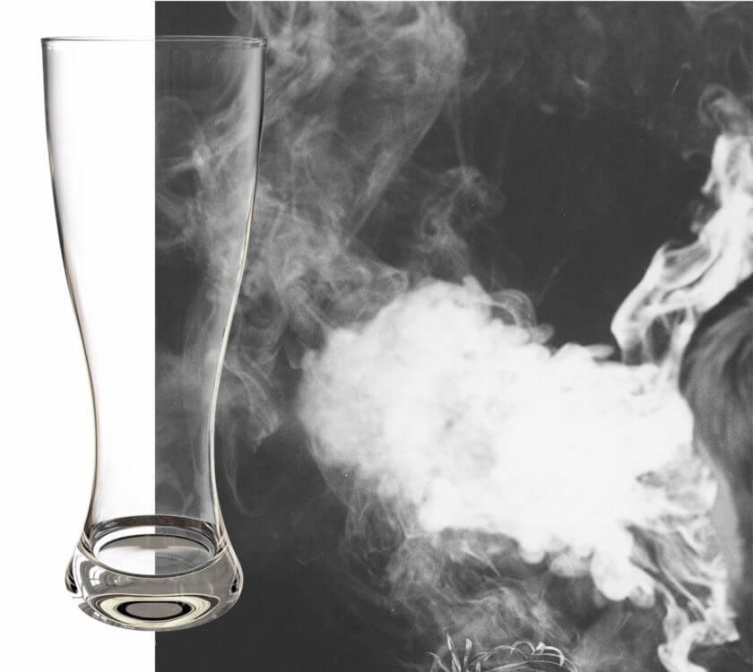 Tabakrauch ins Gesicht blasen ist Körperverletzung